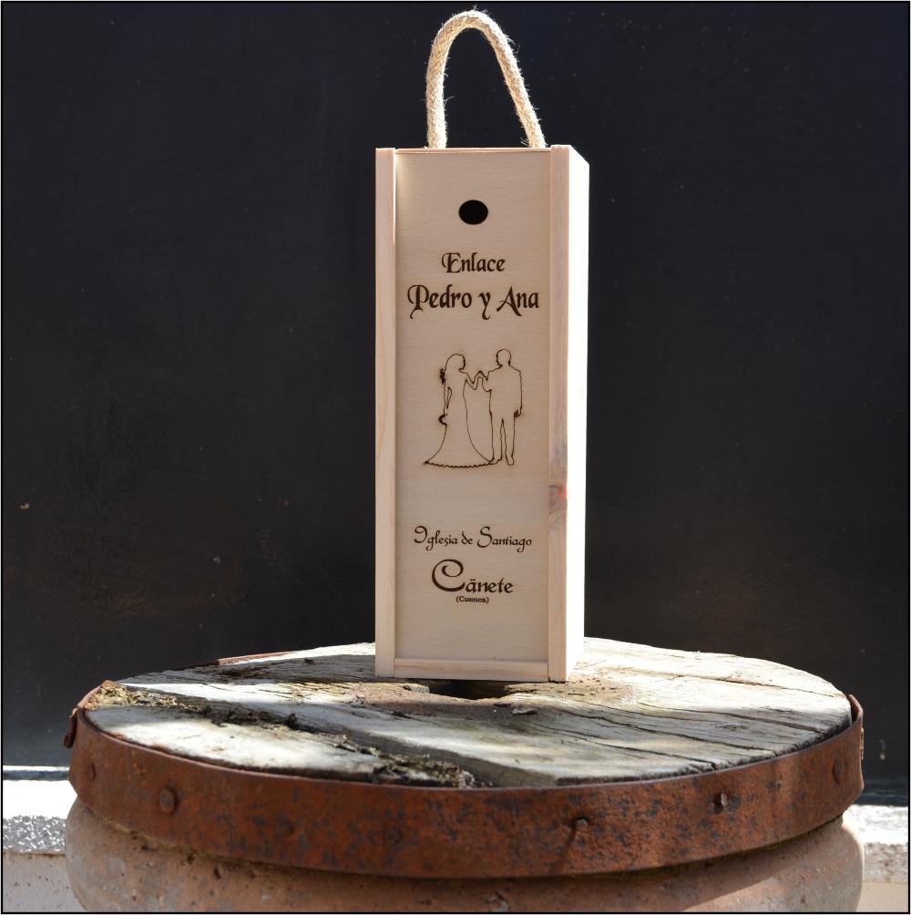 Caja de vino  ejemplo 1