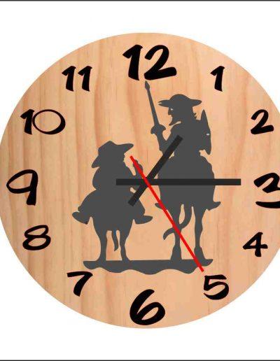 reloj don quijote y sancho