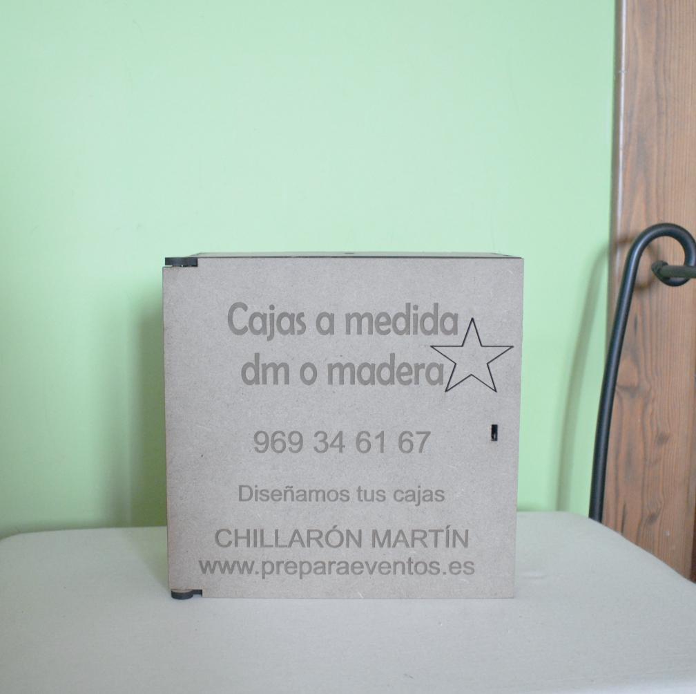 Cajas personalizadas cualquier tamaño con separadores y diseño de la tapa