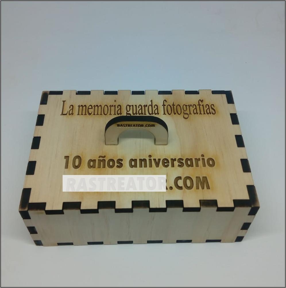 Cajas personalizadas sistema ensamblado madera de pino