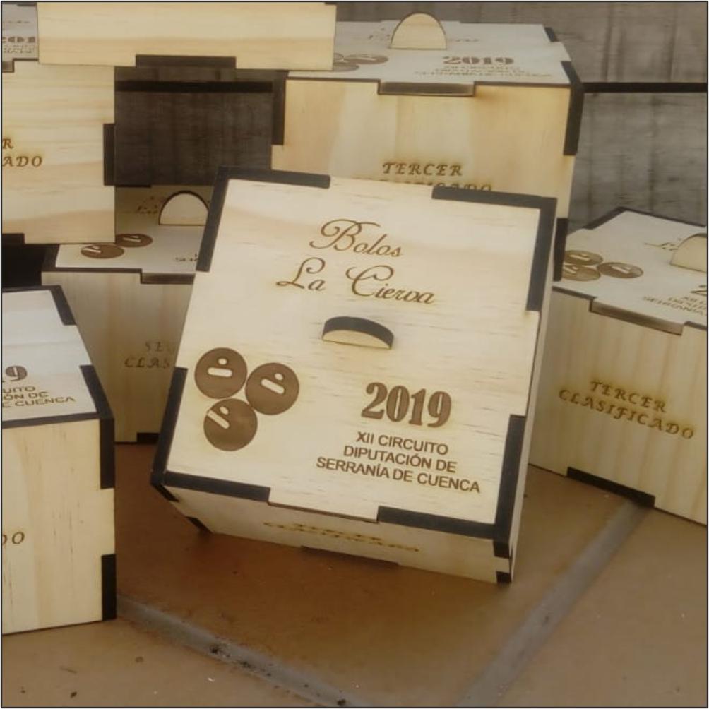 Cajas personalizadas sistema ensamblado madera de pino para quesos